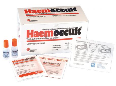 Haemoccult® 50x3 Teste