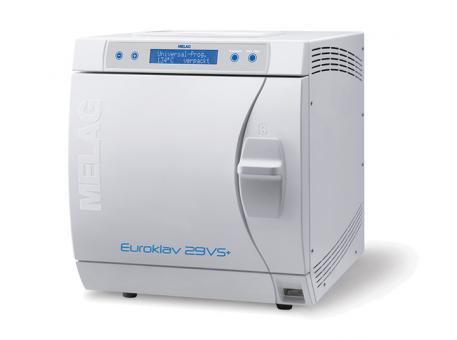 Euroklav® 29 VS+ mit einfachem Vor- und Nachvakuum, Kesseltiefe 35 cm (Volumen 18 Liter) 1x1 Stück